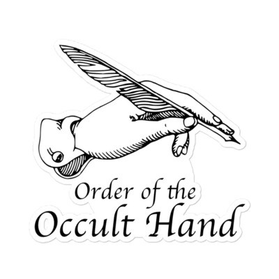 Order of the Occult Hand Sticker