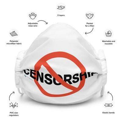 'No Censorship' Reusable Premium face mask