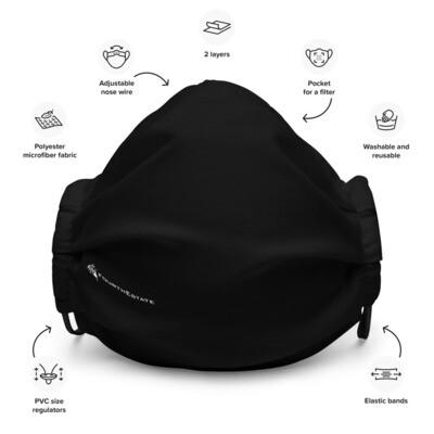Fourth Estate® Reusable Premium Face Mask (black)