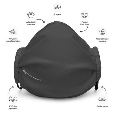 Fourth Estate® Reusable Premium Face Mask (grey)