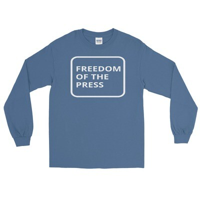 FREEDOM OF THE PRESS Long Sleeve Shirt