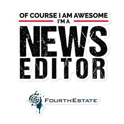 I'm a Awesome Editor Sticker