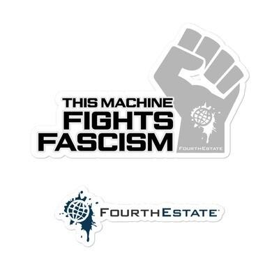 This Machine Fights Fascism Sticker
