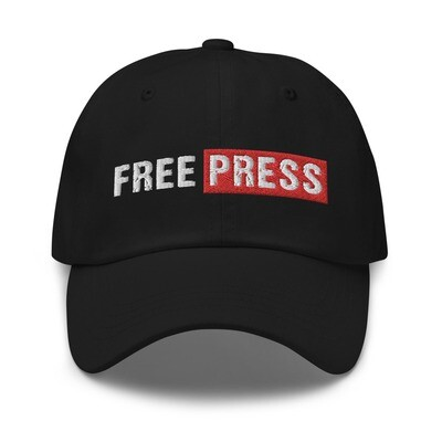 FREE PRESS Embroidered Dad hat