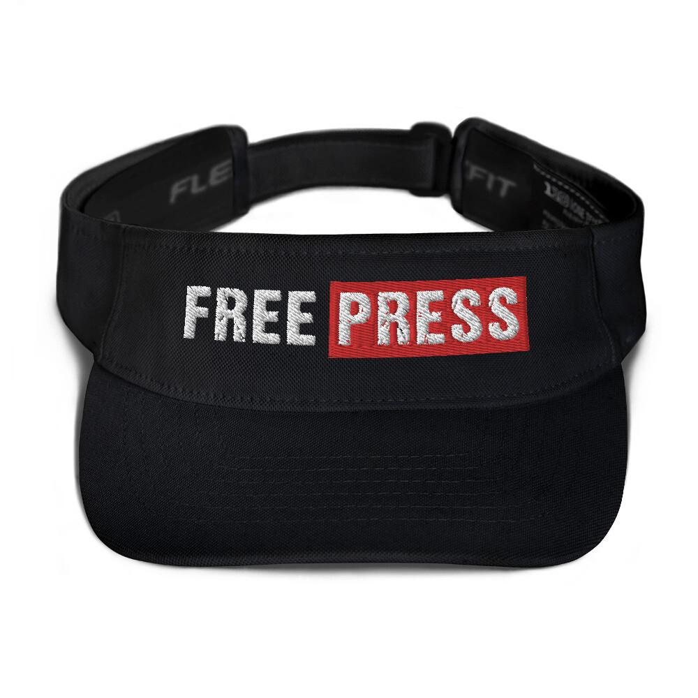 FREE PRESS Embroidered Visor