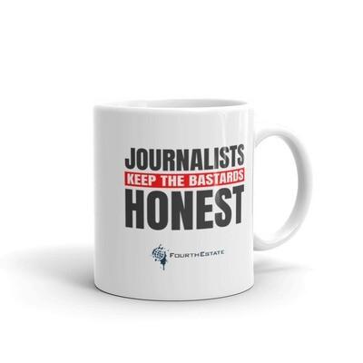 Journalists Keep the Bastards Honest Mug
