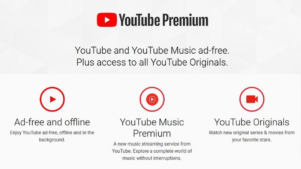 Gói Youtube Premium