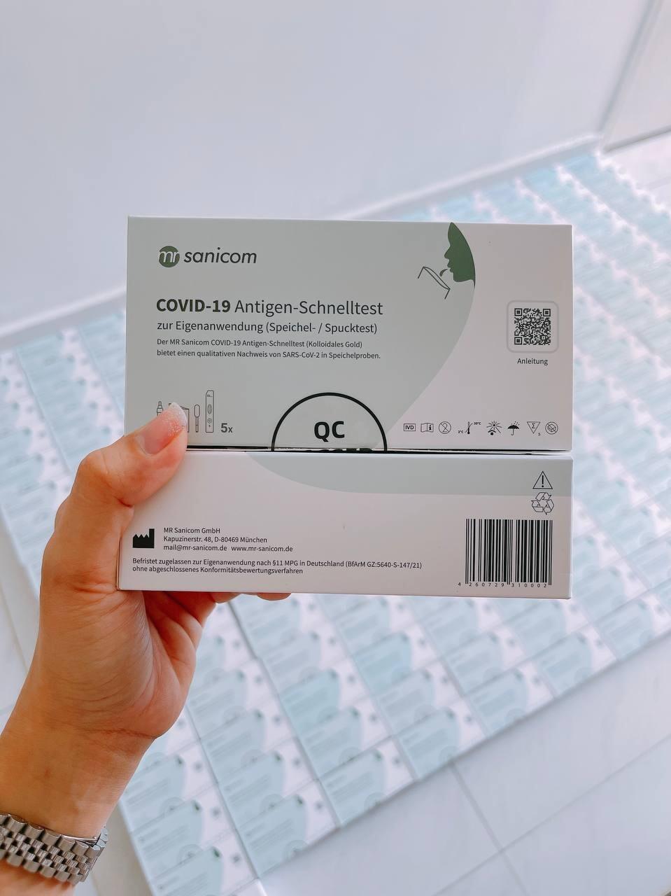 MR Sanicom COVID-19 Antigen-Schnelltest