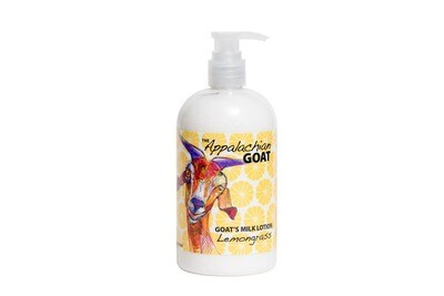 16oz Lemongrass Goats Milk Lotion