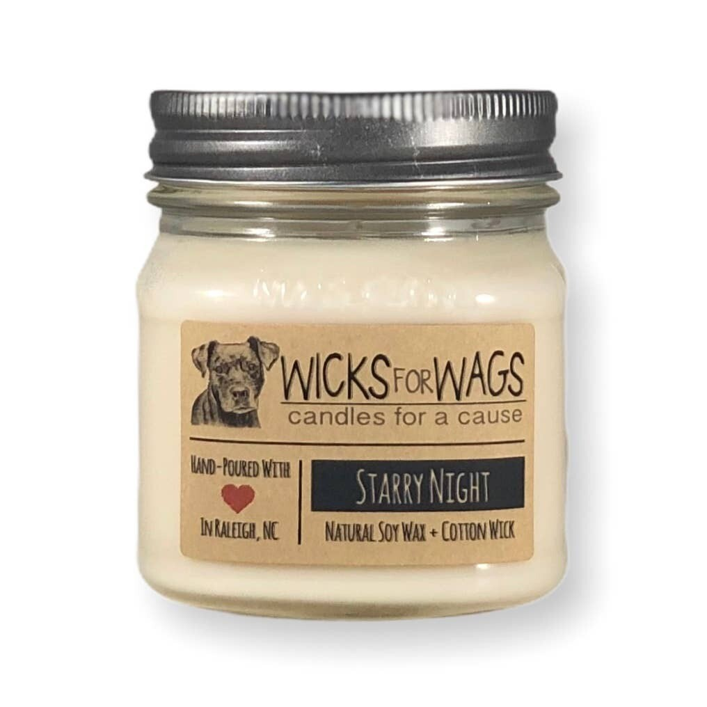 Starry Night /8 ozSoy Candle
