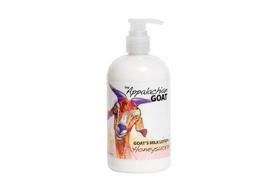 16oz Honeysuckle Goats Milk Lotion