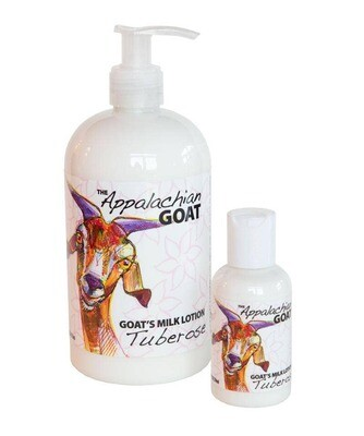 16oz Tuberose Goats Milk Lotion