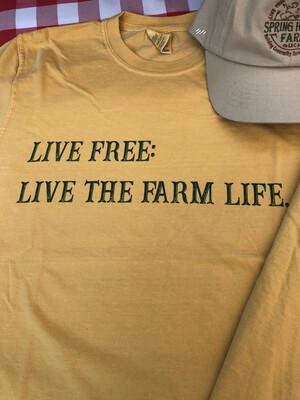Live The Farm Life T-shirt