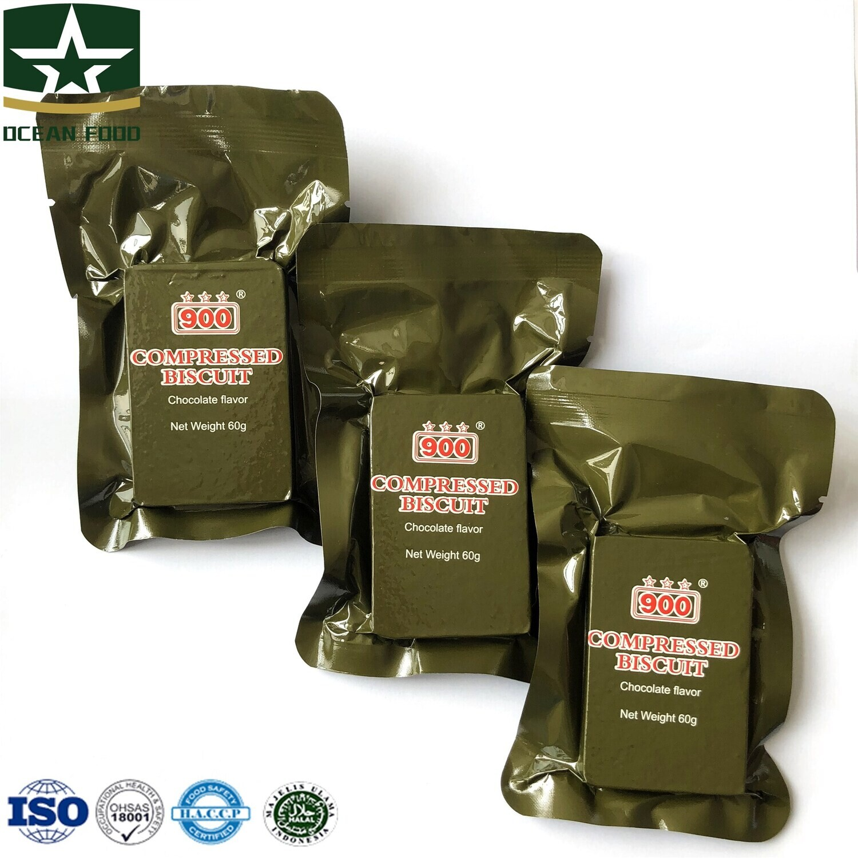 Scran Military Food Vacuum Pack Energy Compressed Biscuit