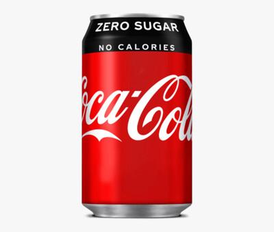 Coke Zero (Can - 330ml)
