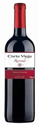 Carta Vieja Cabernet Sauvignon Reservado 750 ml.