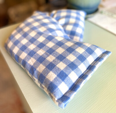 Handmade Hot or Cold Pack The Big Daddy Flannel Neck