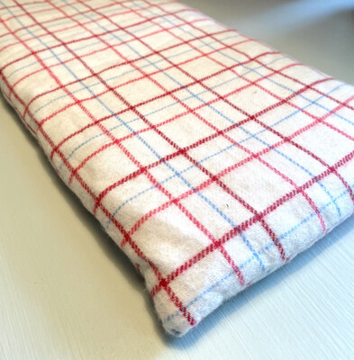 Handmade Hot or Cold Pack Large Flannel Neck