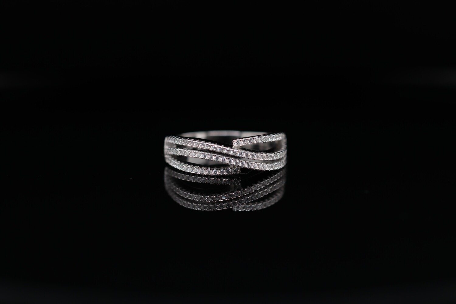 Solitaire Silver Sterling Designer Ring