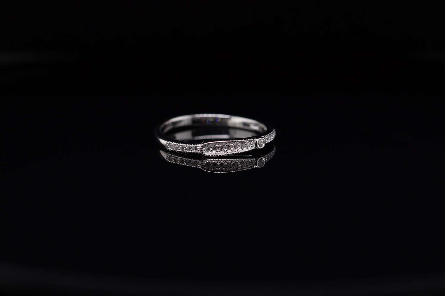 Solitaire Thinner Ring