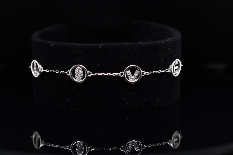 Solitaire Love Sparkling Bracelet