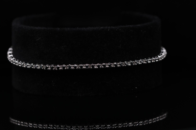 Solitaire Green Stone Sparkling Bracelet
