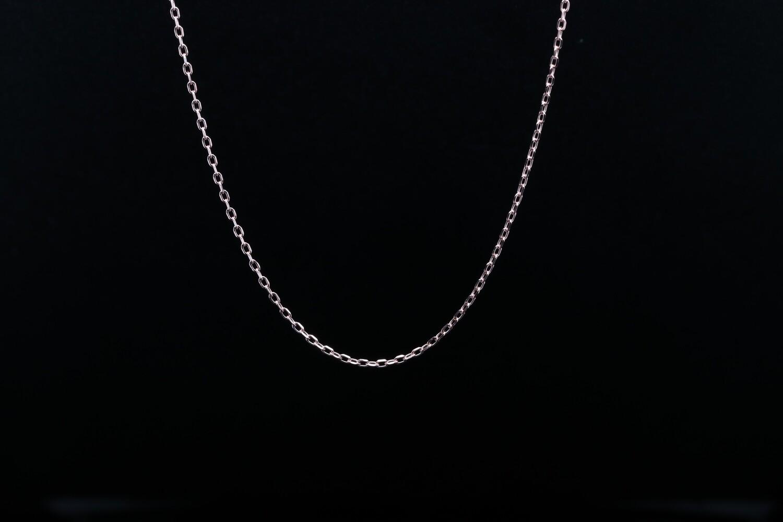 Solitaire Plain Buckle Chain