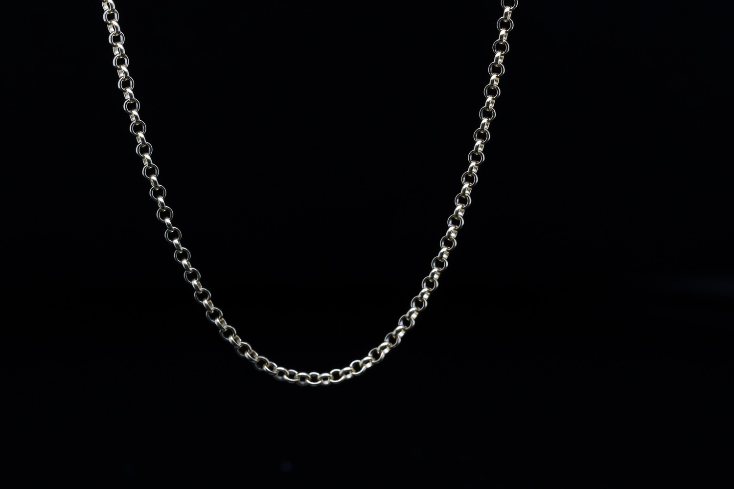 Solitaire Long Buckle Chain
