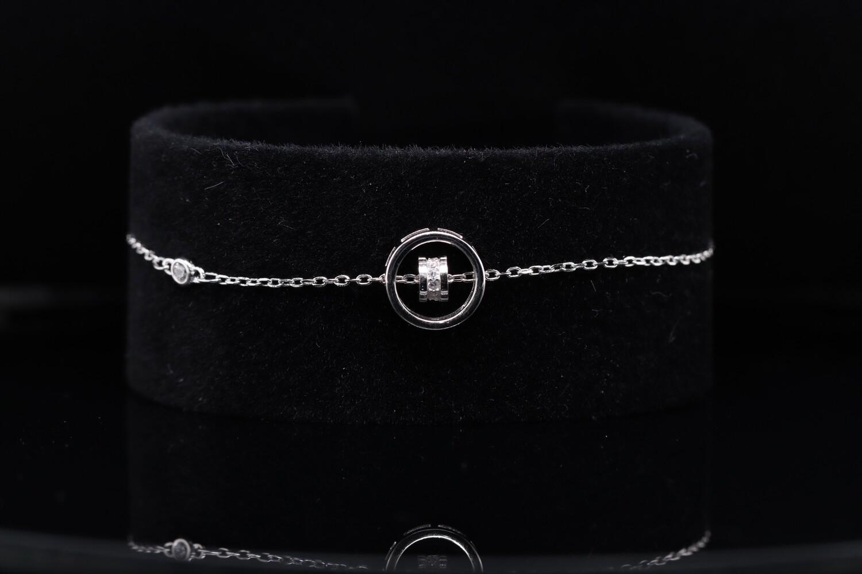 Solitaire Sparkling Bracelet