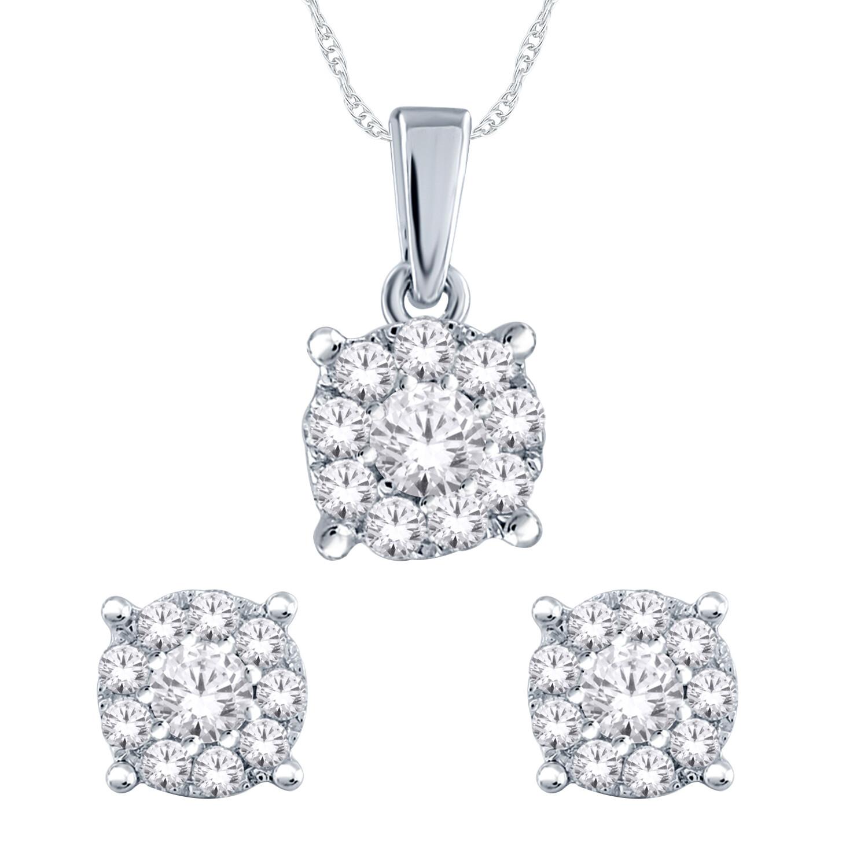 Diamond Fashion Pendant with chain