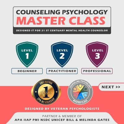 Counseling Psychology Masterclass