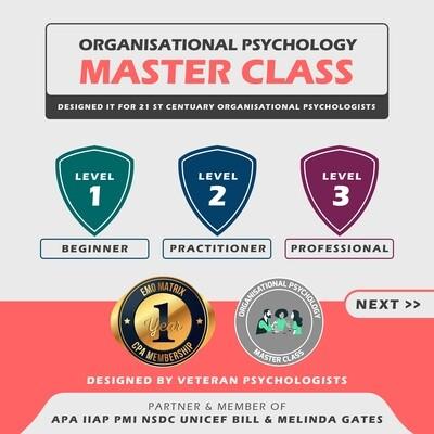 Organizational Psychology Masterclass