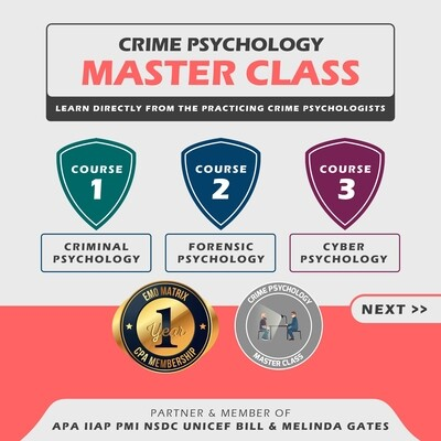 Crime Psychology Masterclass