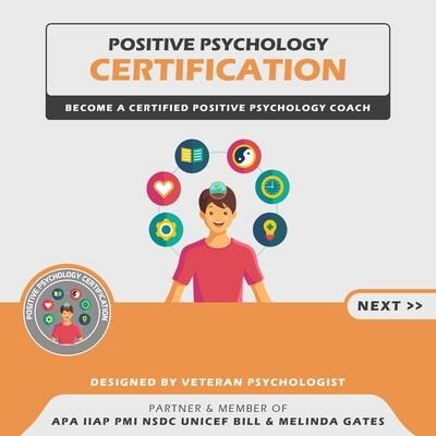 Positive Psychology Certification