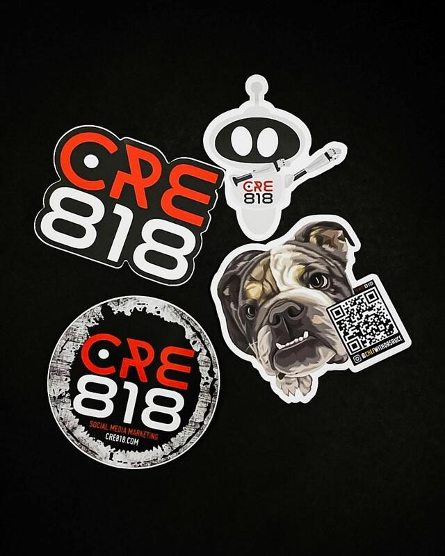 CRE818 Sticker Pack #1