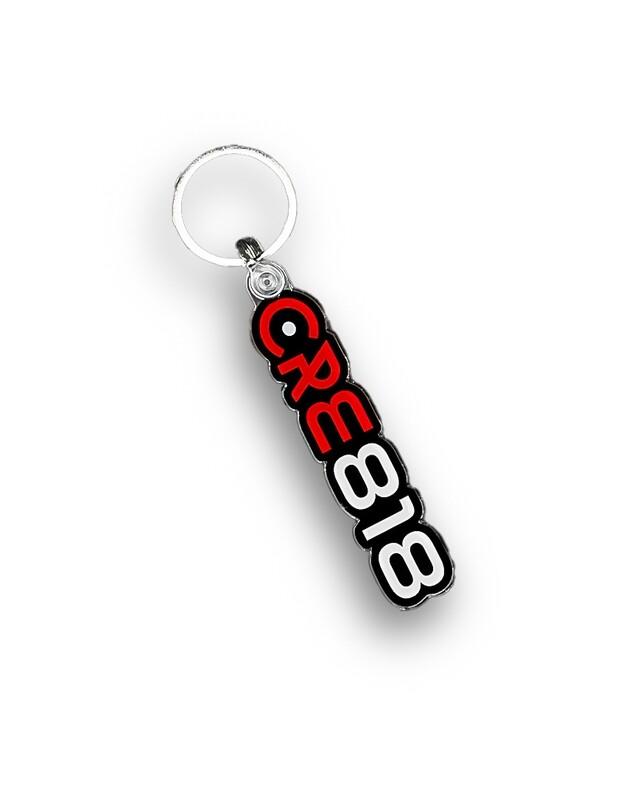 CRE818 Brand Logo Keychain