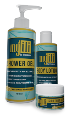 My 'ili - Skin Care Set (Shower-Gel , Lotion , Cream)