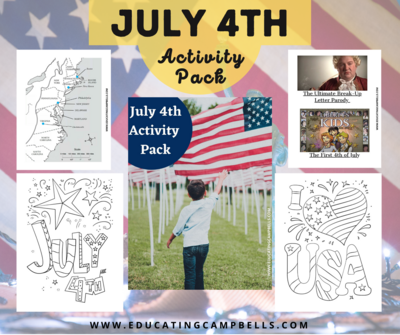 July 4th Activity Pack