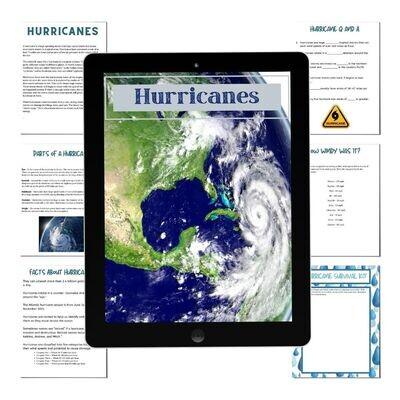 Hurricane Mini Unit Study
