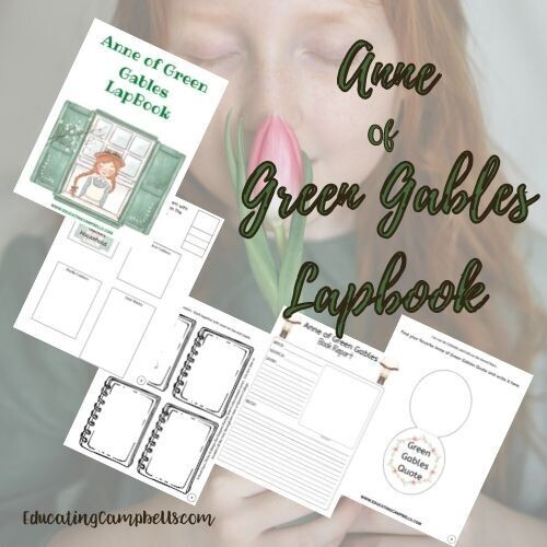 Anne of Green Gables Lapbook