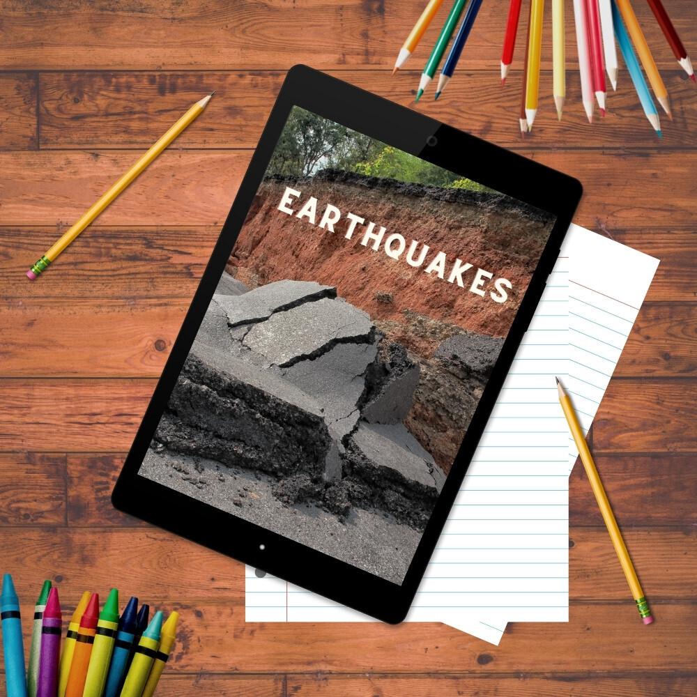 Earthquakes Mini Unit Study