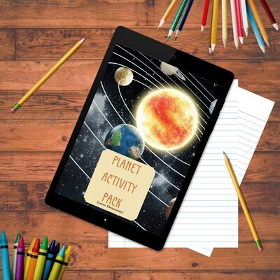 Planets Activity Pack - Lower Elementary