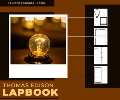 Thomas Edison Research-Based Lapbook