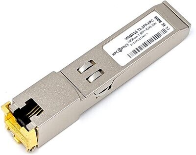 Cisco 1/10GBASE-T SFP+ transceiver module for Category 6A cables, Part number: SFP-10G-T-X