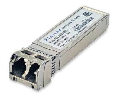 Finisar 10Gb/s 850nm Multimode 400m' Datacom SFP+ Transceiver
