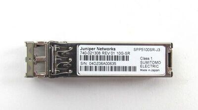 Juniper Small Form Factor Pluggable 10GBase-SR (SFP+) SR Transceiver Module