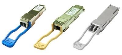 Cisco 40GBASE-SR4 QSFP Transceiver Module with MPO Connector