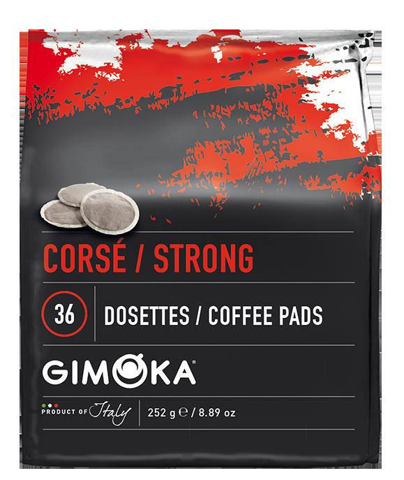 10 x 36 Gimoka Strong- Coffee Pads for Philips Senseo®