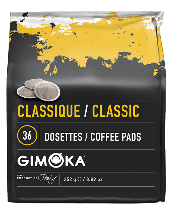 2 x 36 Gimoka Classic - Coffee Pads for Philips Senseo®