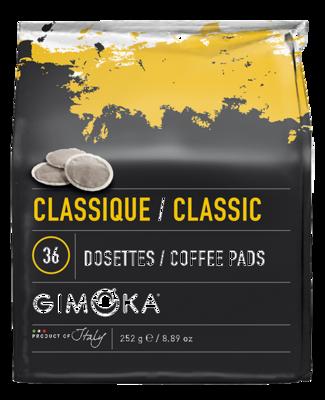 10 x 36 Gimoka Classic - Coffee Pads for Philips Senseo®